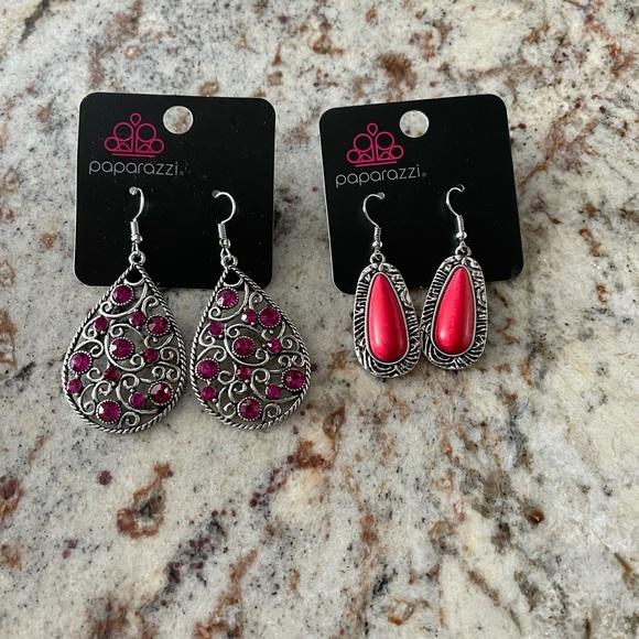 2 Paparazzi Women Earrings New